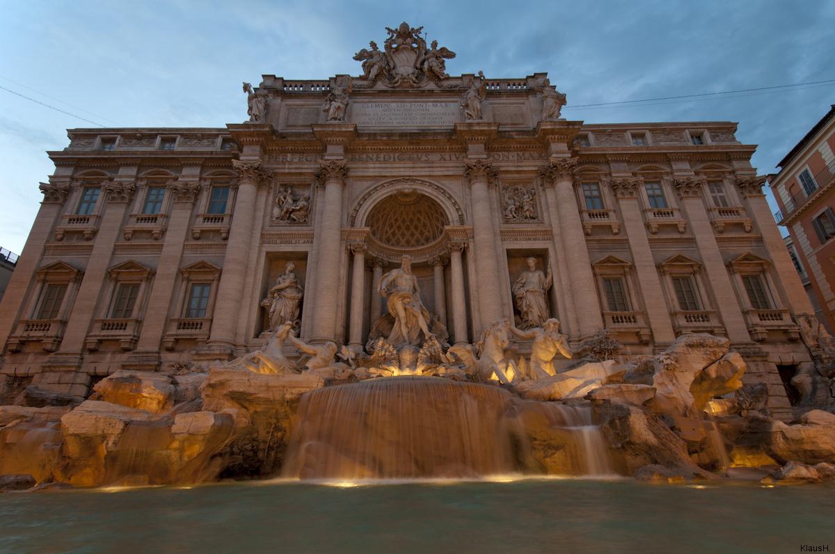 Rom XII - Fontana di Trevi