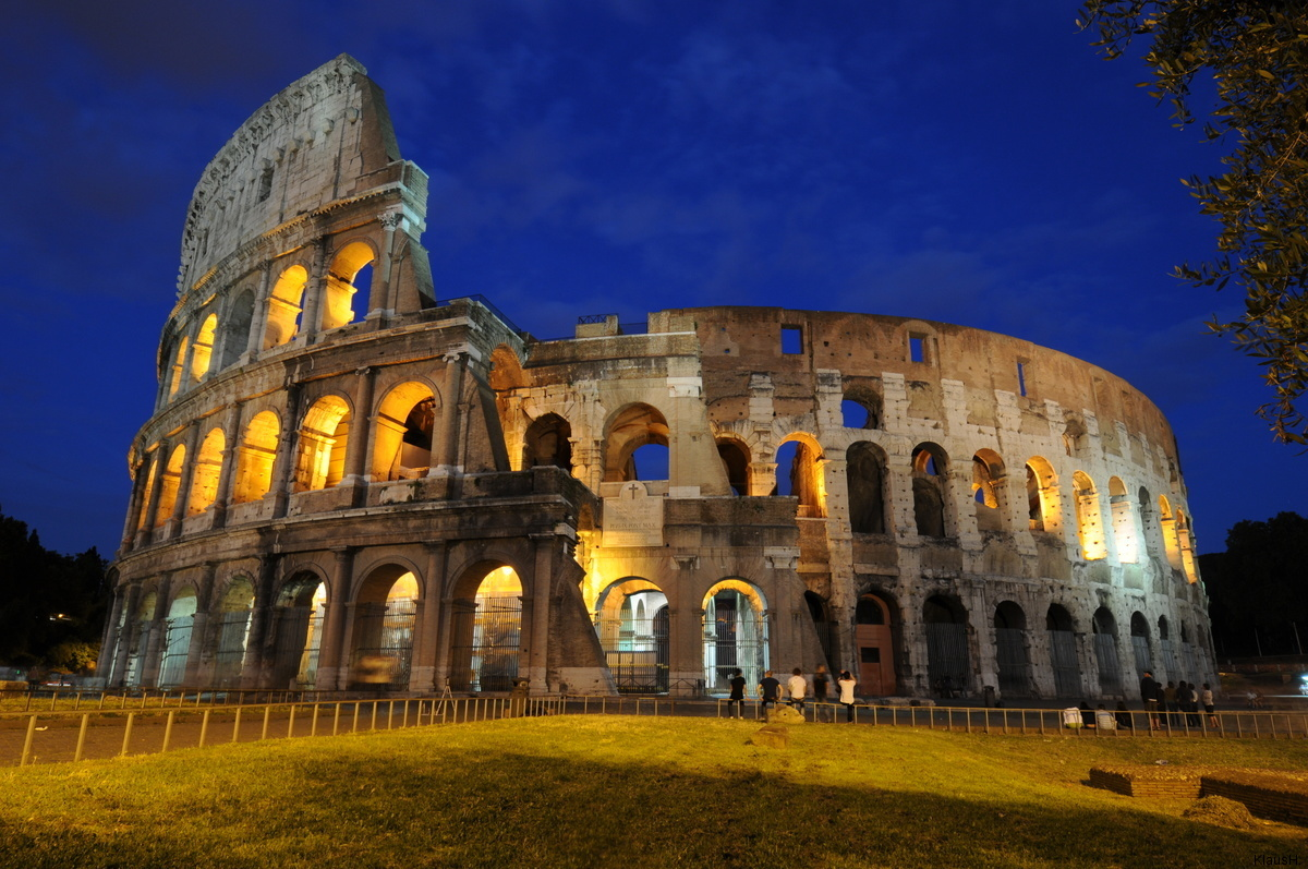 Rom XIII - Kolosseum bei Nacht