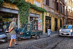 Roma Antica - Piaggio Ape -