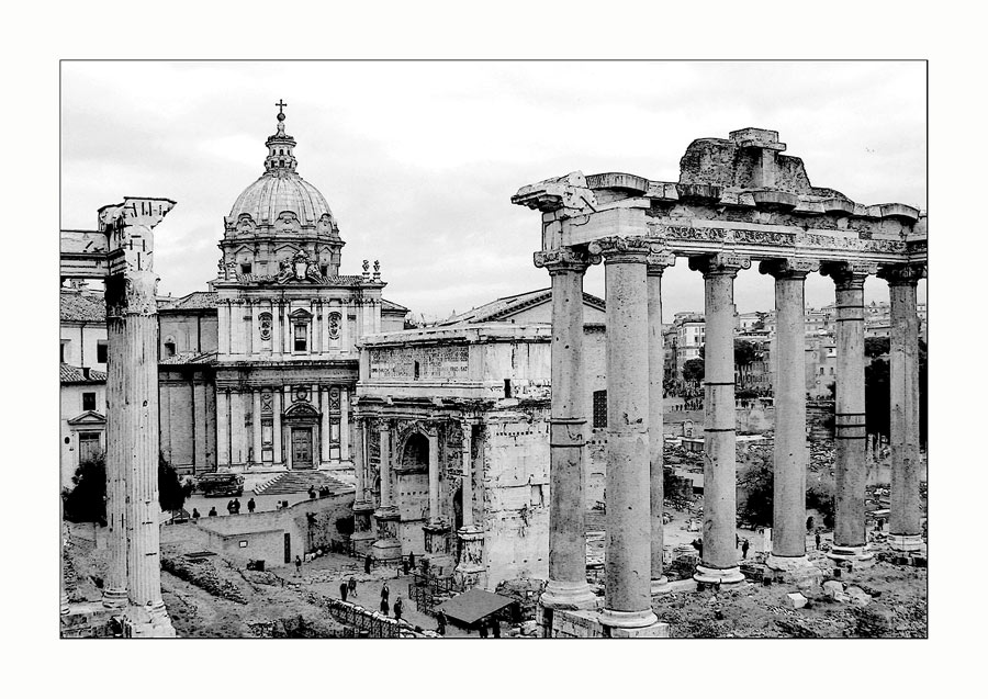 Roma, Forum Romanum, oder  ...