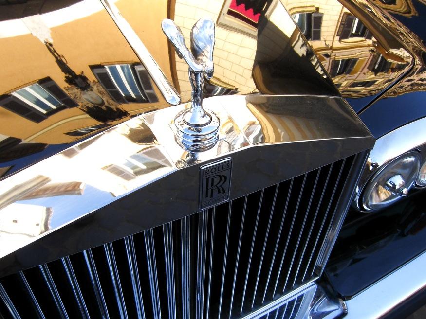 Roma in ... Rolls Royce