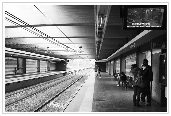 Roma - Metro di Ponte Mammolo