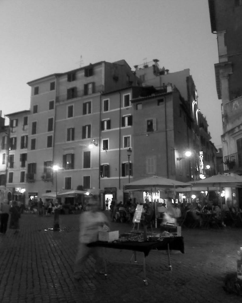 Roma P.zza Farnese Lavorare in città