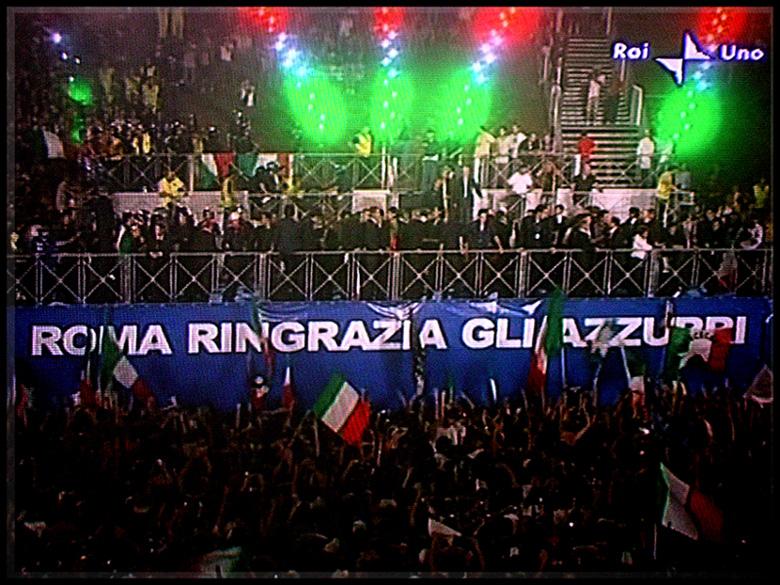 ROMA ringrazia gli AZZURRI