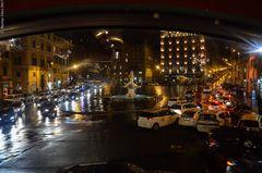 Roma sotto la pioggia