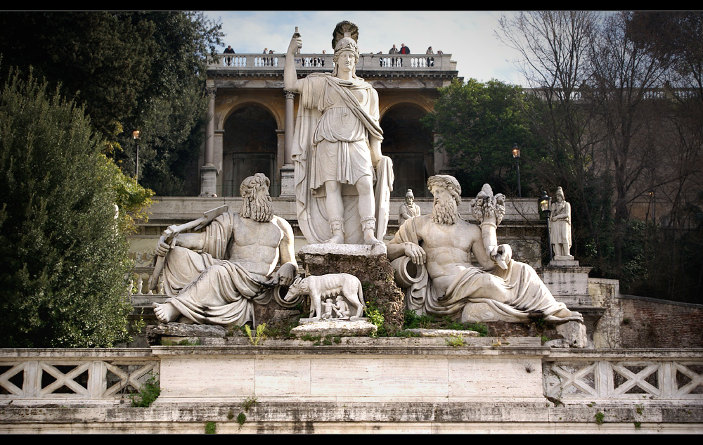 Roma, Tiber und Aniene