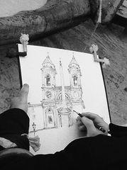 Roma: Zeichnung