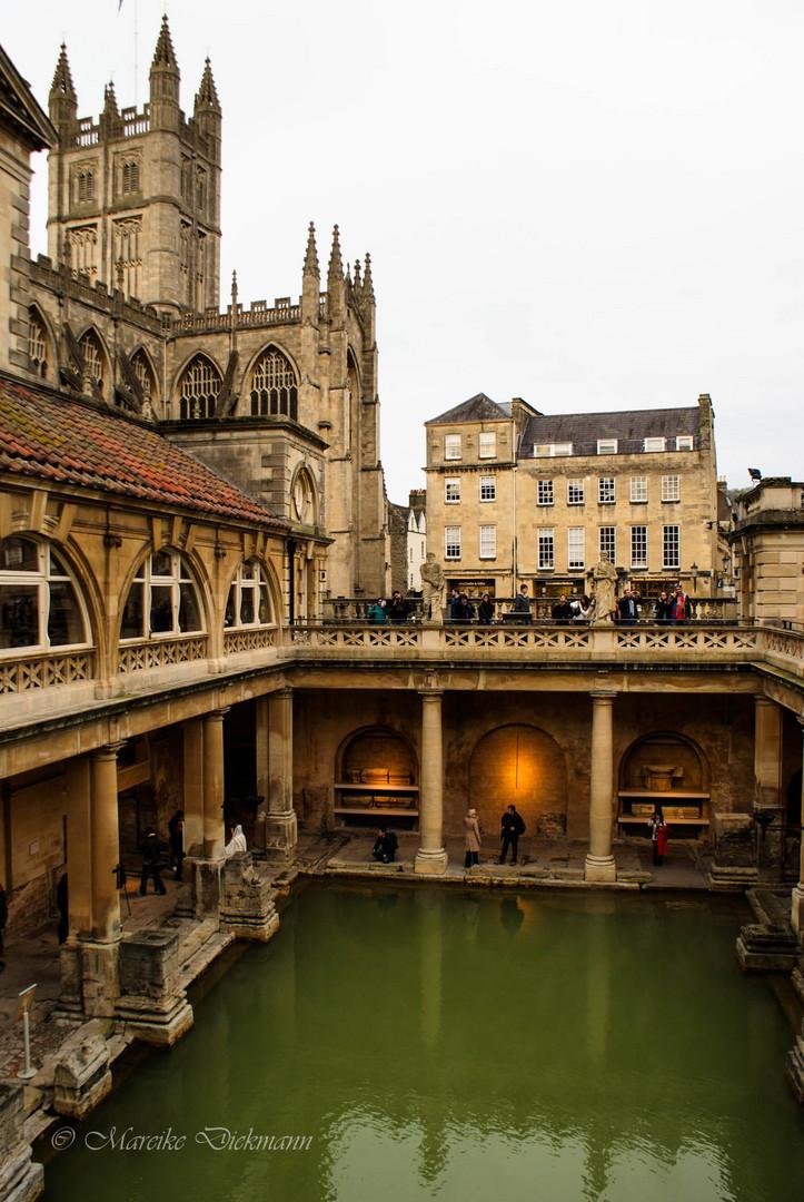 Roman bath in Bath