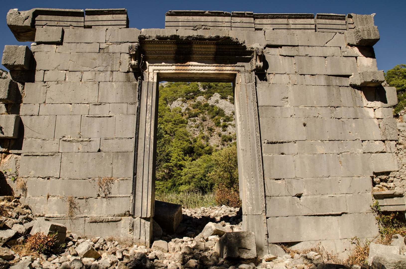 Roman Temple - Ruins of Olympos