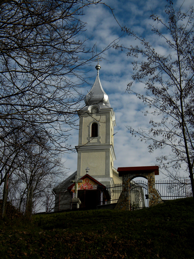 romanian village church