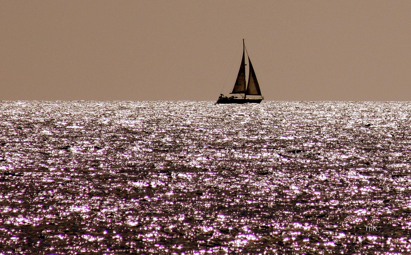 Romantik auf See.