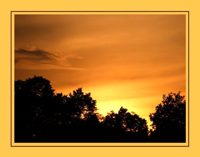 romantik sunset