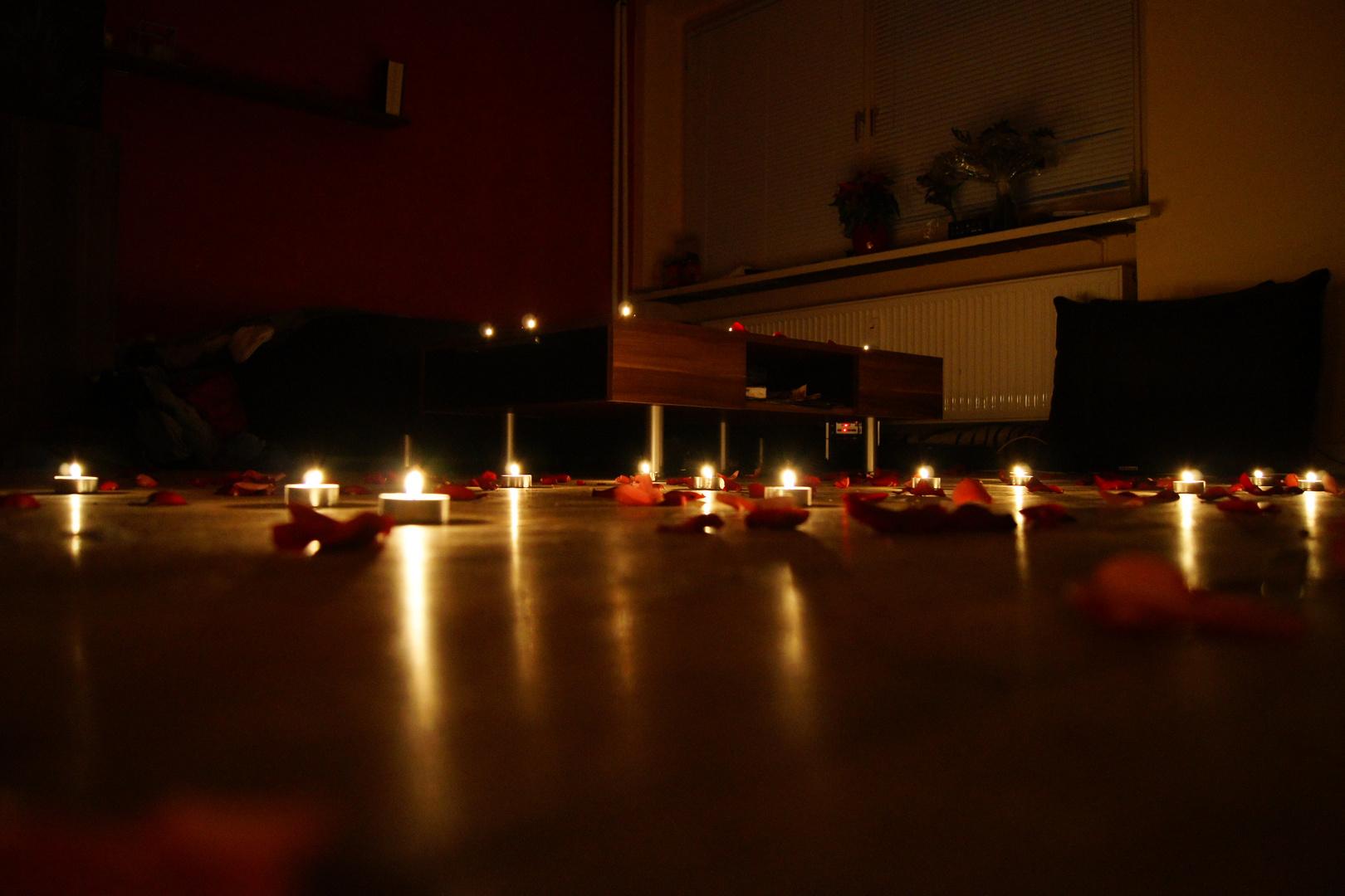 romantisch mit kerzen 2 foto bild emotionen romantik spezial bilder auf fotocommunity. Black Bedroom Furniture Sets. Home Design Ideas