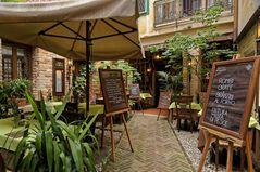 Romantisch Speisen in Venedig