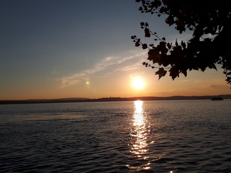 Romantische Abendstimmung am See Foto & Bild | landschaft