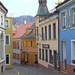Romantische Gasse in Baden-Baden