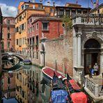 Romantische Gassen  Venedig - Windstille -