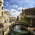 Romantische Hinterhöfe Venedig