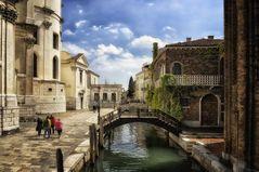 Romantische Hinterhöfe Venedig  ###