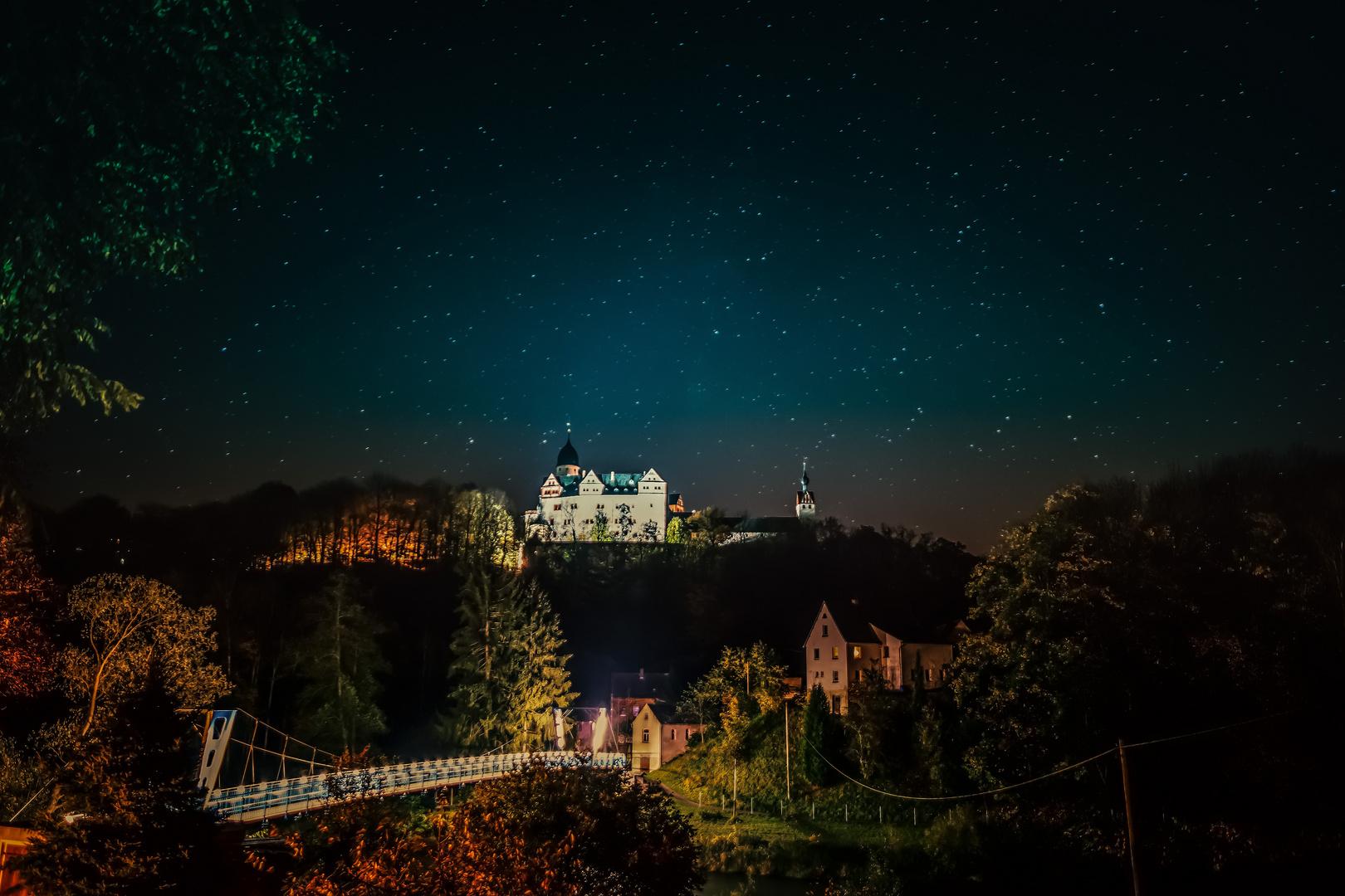 Romantische Schlossstimmung im Sternenglanz