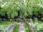 romantischer Garten in Holland