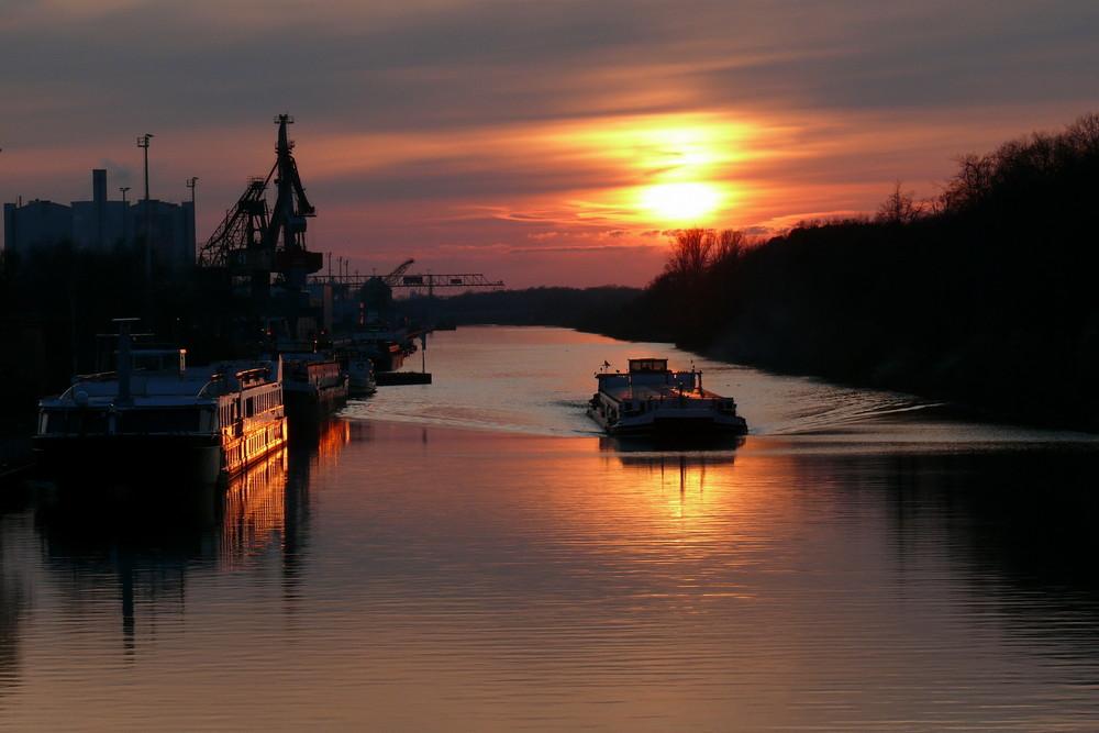 Hannover Sonnenuntergang