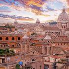 ROME SKY  LINE.
