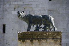 Romulus und ? in Aquileia