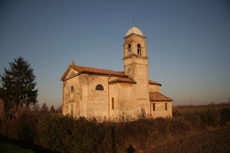 Ronchetti (San Secondo) La chiesa
