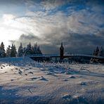 ...Rondell (Oberhof) im Winterpanorama....