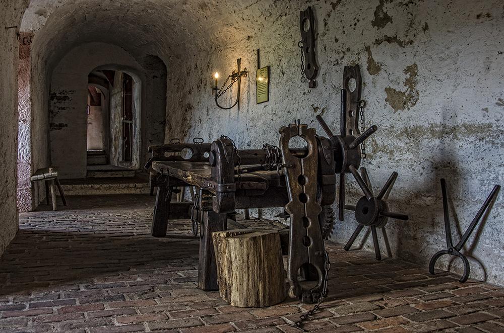 Ronneburg - Folterkammer