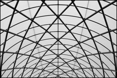 roof construction in the imperial war museum in london