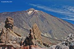 Roque Cinchado und Teide