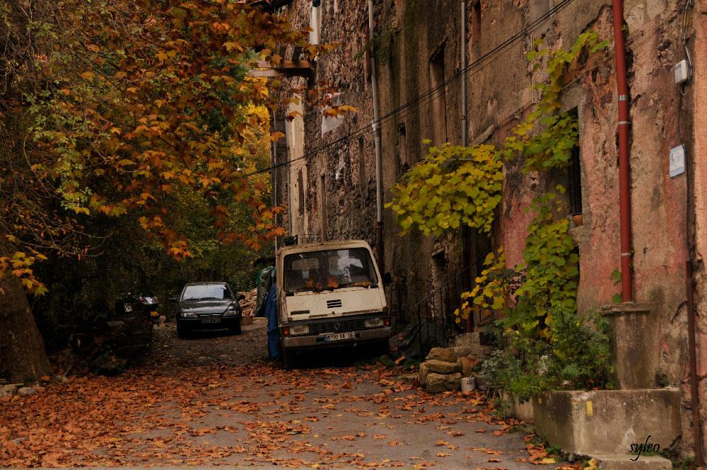 Roquebilliere,impasse au vieux village