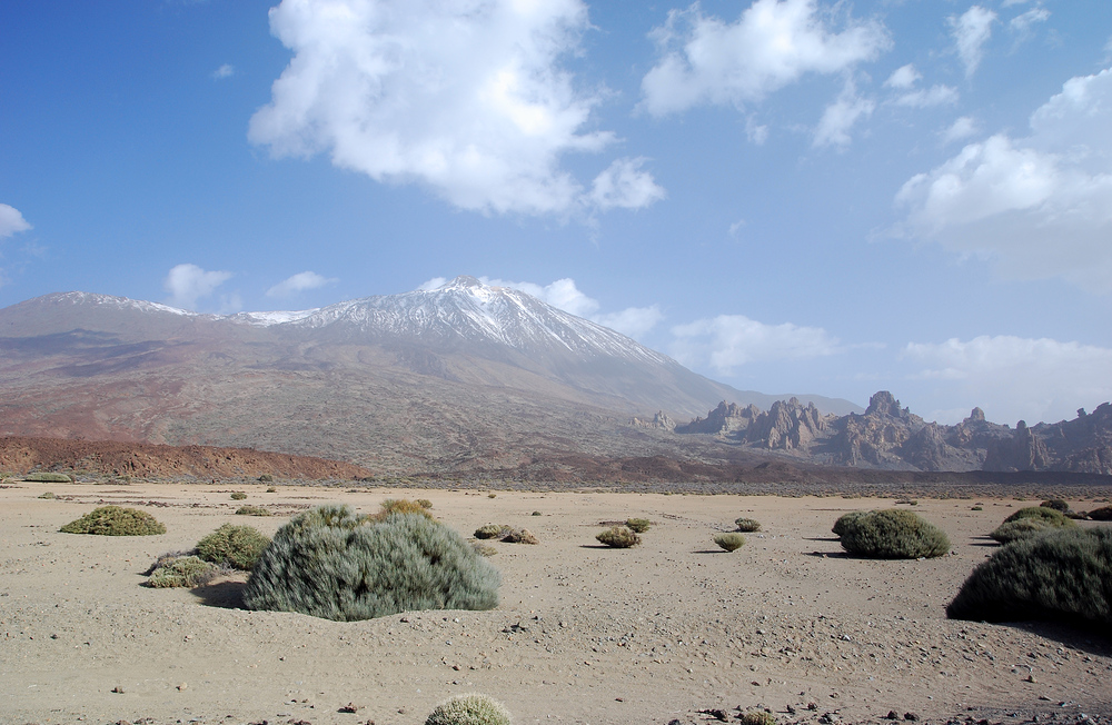 Roques con Teide