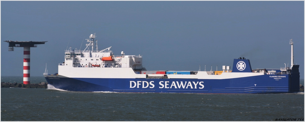 "RoRo Ferry DFDS "" FLANDRIA"""