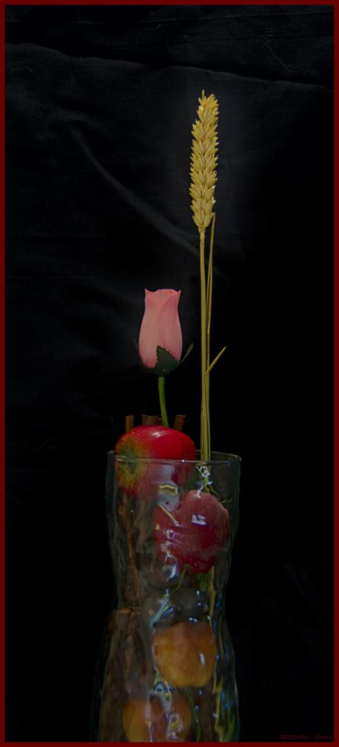 Rosa, Trigo y Manzanas
