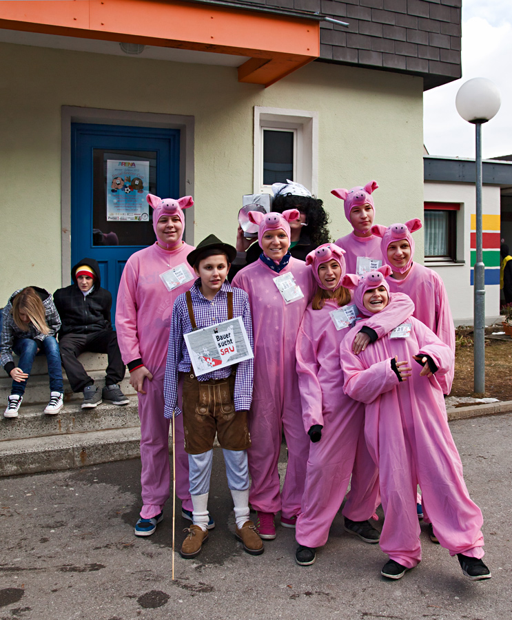 Rosarote Schweinchen der anderen Art!