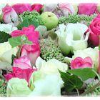 Rose et vert