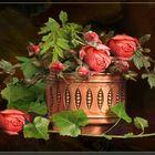 Rosen aus Neugablonzer -Sommer