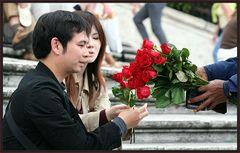 Rosen für die Dame