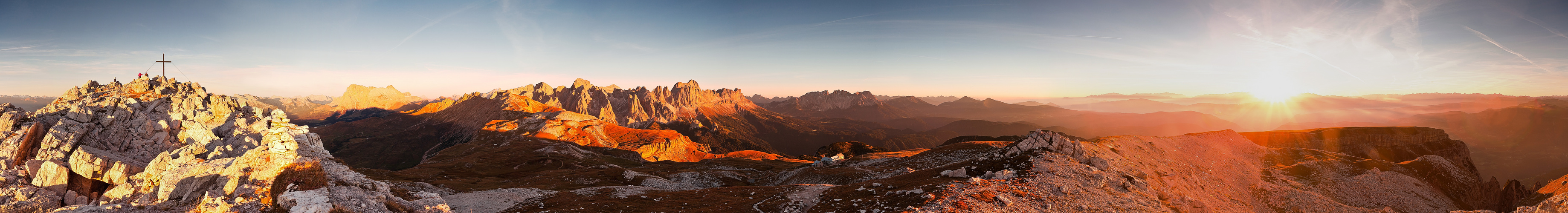 Rosengartengruppe in den Dolomiten