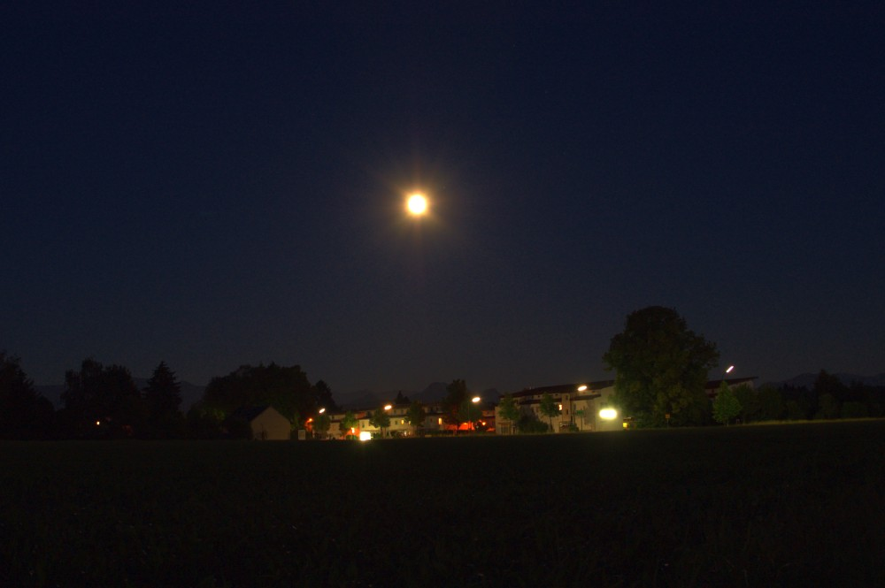Rosenheim am Abend..