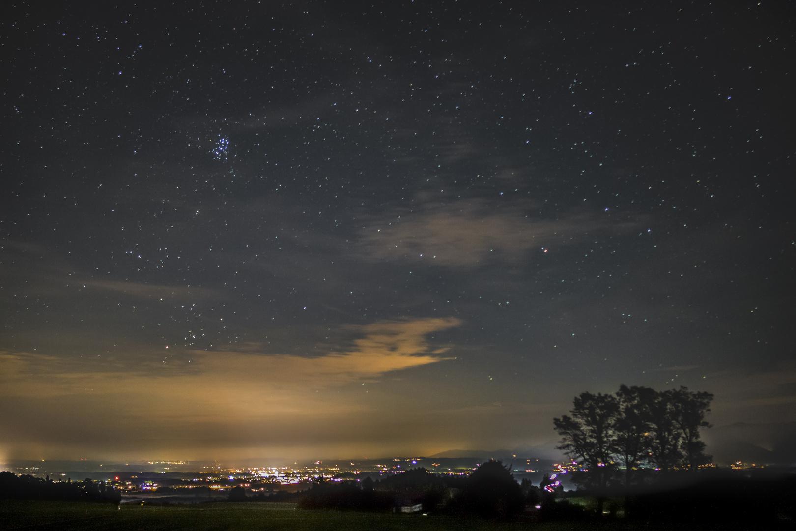 Rosenheim bei Nacht 2