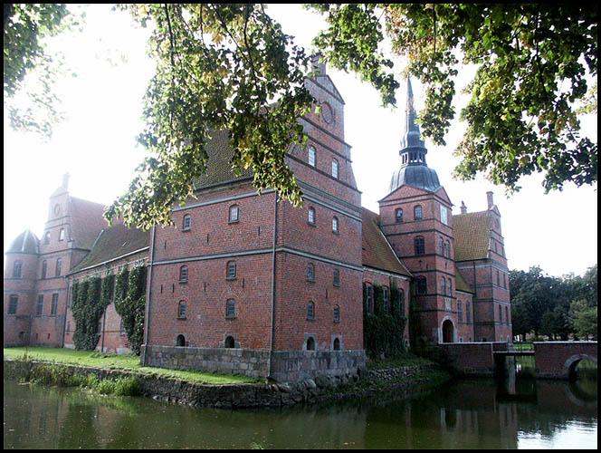 Rosenholm Slot i Danmark