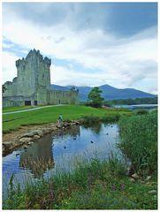 Ross Castle e riflessi