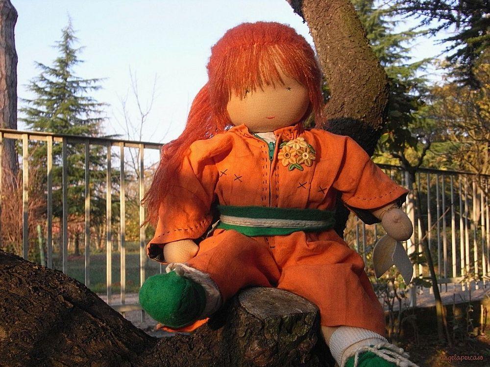 Rossella bambola di pezza