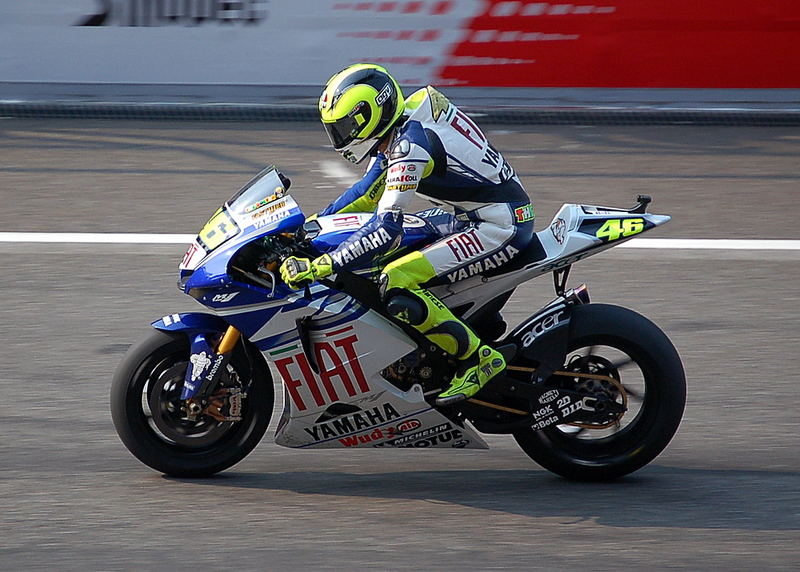 Rossi just came second in the Shanghai MotoGP