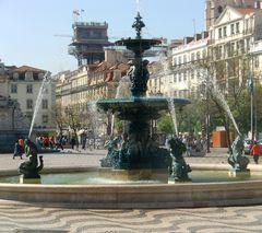 Rossio-Platz, Lissabon