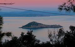 Rosso di sera sull' Isola felice...